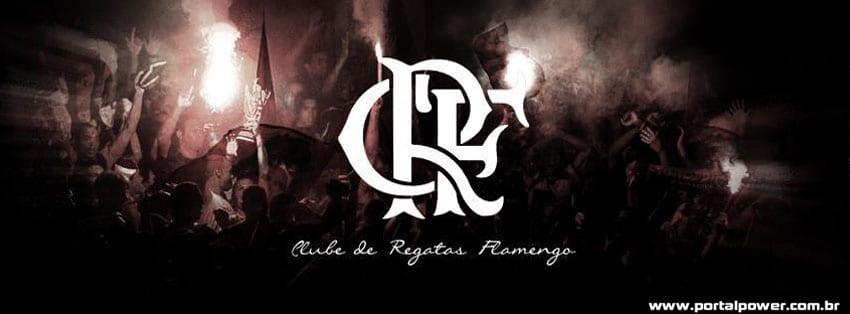 capa flamengo preta facebook