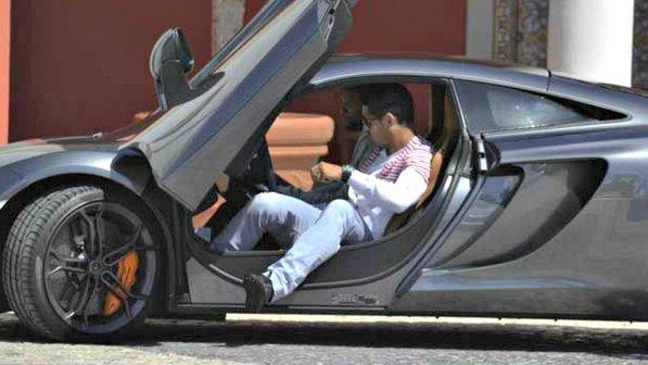 McLaren-MP4-12C-de-Cristiano-Ronaldo Conheça todos carros de Cristiano Ronaldo