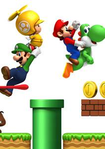 New Super Mario Bros Wii  New Super Mario Bros Wii