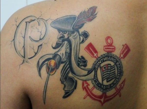 25 fotos de Tatuagens de torcedores