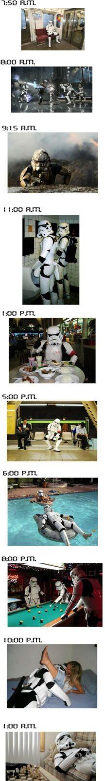 Stormtrooper  Como é a vida de um Stormtrooper, soldado de Star Wars
