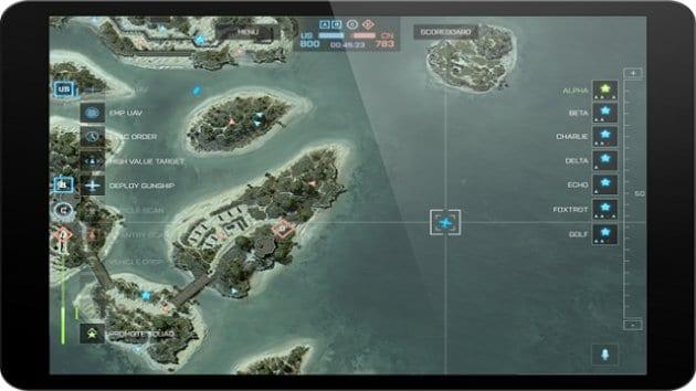 App Commander de Battlefield 4