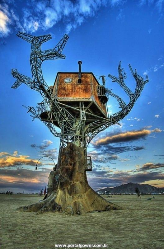 16 casas na árvore espalhadas pelo mundo