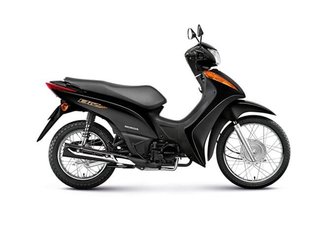 Honda Biz 2015 preta  Honda Biz 2015   Fotos, vídeos, cores e preços
