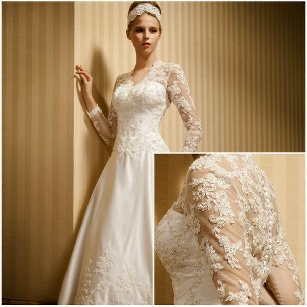 vestidos noivas 19  Vestidos de Noiva   Tendências para 2015