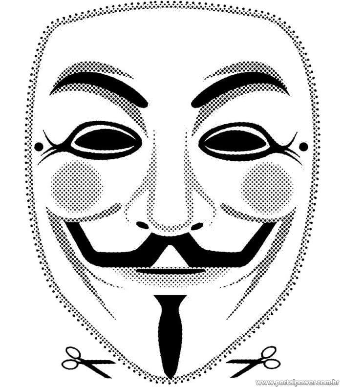 Máscaras de Carnaval para colorir e imprimir