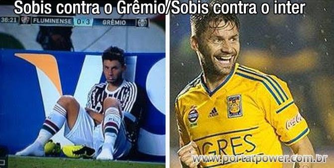 Sobis contra o Grêmio, Sobis contra o Inter