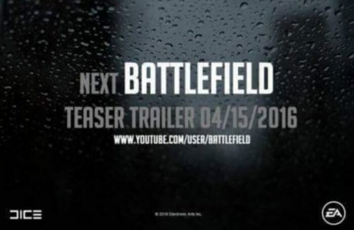 battlefield5  BATTLEFIELD 5 PODE SER ANUNCIADO AINDA HOJE